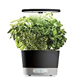 AeroGarden Harvest 360 Indoor Hydroponic Garden, Black