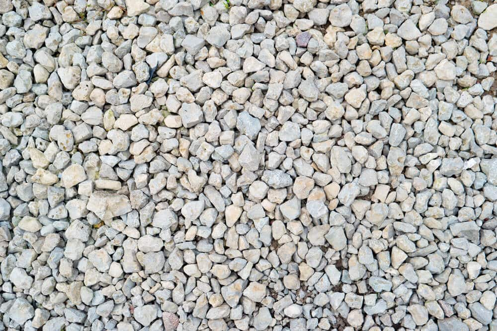 A picture of gravel.